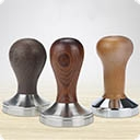 Темперы Инструмент бариста, использующийся для формирования правильной «кофейной таблетки» в портафильтре при приготовлении эспрессо