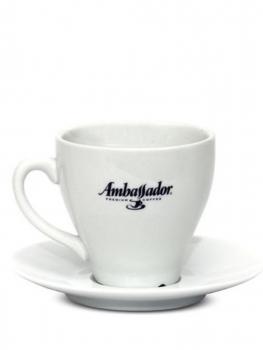 Кофейная пара Ambassador, чашка (90мл) + блюдце