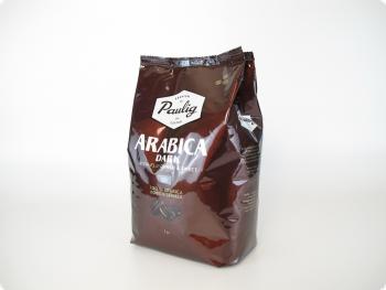 Ликвидация Кофе в зернах Paulig Arabica Dark (Паулиг Арабика Дарк)  1 кг, вакуумная упаковка
