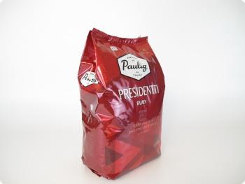 Ликвидация Кофе в зернах Paulig Presidentti Ruby (Паулиг Президенти Руби)  1 кг, вакуумная упаковка