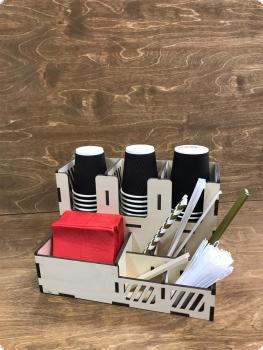Органайзер для кофейной (чайной) зоны 9 секций