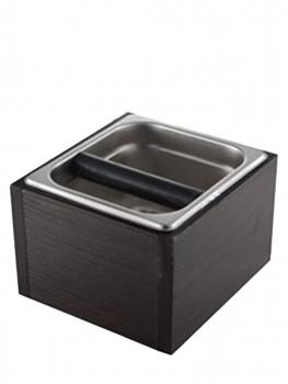 Нок-бокс (Knock Box) для кофейного жмыха,  дерево