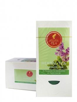 Чай травяной Julius Meinl Herbal Tea (Юлиус Майнл Хербл), упаковка 25 саше по 1,5 г