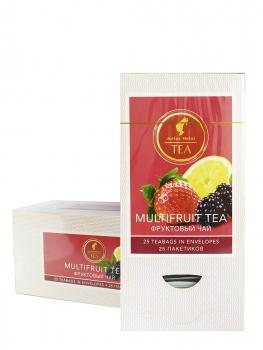 Чай фруктовый Julius Meinl Multifruit Tea (Юлиус Майнл Мультифрукт), упаковка 25 саше по 1,5 г