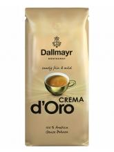 Кофе в зернах Dallmayr Crema D Oro (Даллмайер Крема де Оро)  1 кг, вакуумная упаковка