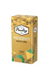 Кофе молотый Paulig Presidentti Gold Label (Паулиг Президентти Голд Лейбл)  250 г, вакуумная упаковка
