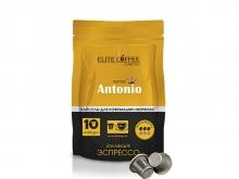 Кофе в капсулах Elite Coffee Collection Antonio (Элит Кофе Коллекшион Антонио), упаковка 10 капсул, формат Nespresso