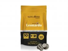 Кофе в капсулах Elite Coffee Collection Leonardo (Элит Кофе Коллекшион Леонардо), упаковка 10 капсул, формат Nespresso