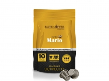 Кофе в капсулах Elite Coffee Collection Mario (Элит Кофе Коллекшион Марио), упаковка 10 капсул, формат Nespresso
