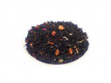 Чай черный Земляника со сливками, упаковка 500 г, крупнолистовой ароматизированный чай