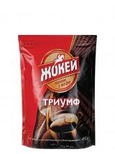 Кофе растворимый  Jockey (Жокей) Триумф, 450 г, сублимированный, вакуумная упаковка