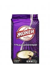 Кофе молотый  Jockey (Жокей) Традиционный  250 г, вакуумная упаковка