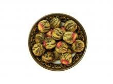 Чай связанный  Хуа Ли Чжи (Жасминовый), упаковка 500 г, крупнолистовой чай