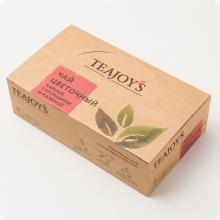 Чай цветочный каркаде TEAJOYS (ТиДжойс), упаковка 100 саше по 1,5 г