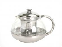 Чайник для чая Лотос стеклянный, 750 мл