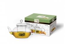 Чайник для чая TECO TC-201 стеклянный, 500 мл