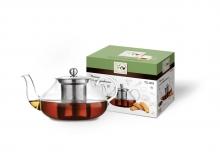 Чайник для чая TECO TC-203 стеклянный, 600 мл