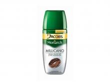 Кофе растворимый с добавлением молотого Jacobs Monarch Millicano (Якобс Монарх Милликано), 95 г, сублимированный, стеклянная банка