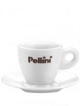 Кофейная пара Pellini, чашка (150мл) + блюдце