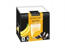 Кофе в капсулах Noble Banana Milk (Нобле Банана Милк), упаковка 16 капсул, формат Dolce Gusto (Дольче Густо)