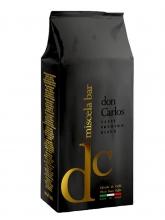 Кофе в зернах Carraro caffe Don Carlos (Карраро Дон Карлос)  1 кг, вакуумная упаковка