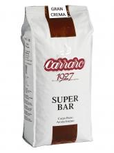 Кофе в зернах Carraro caffe Super Bar (Карраро Супер Бар)  1 кг, вакуумная упаковка