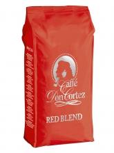 Кофе в зернах Carraro caffe Don Cortez Red (Карраро Дон Кортез Красный)  1 кг, вакуумная упаковка