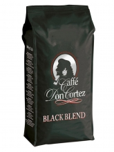 Кофе в зернах Carraro caffe Don Cortez Black (Карраро Дон Кортез Черный)  1 кг, вакуумная упаковка