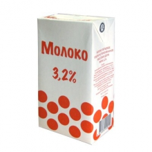 Молоко ГринВилль 3,2 %,  1 л