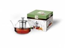 Чайник для чая TECO TC-204 стеклянный, 800 мл
