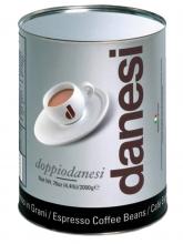 Кофе в зернах Danesi Doppio (Данези Доппио)   2 кг, жестяная банка