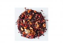 Чай фруктовый Клубничный пунш, упаковка 500 г, крупнолистовой чай