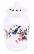 Емкость для чая (птицы на ветке) ЕФ-02