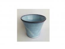 Чашка из глины, глазурованная, 140 мл