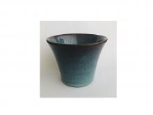 Чашка из глины, глазурованная, 150 мл