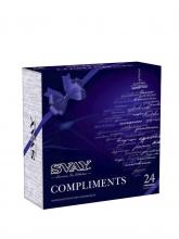 Чай ассорти Svay Compliments, упаковка 24 пирамидки по 2 и 2,5 г