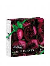 Чай ассорти Svay Compliments Peonies, упаковка 24 пирамидки по 2,5 г
