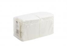 Салфетки БикПак, Белые 24х24,  400 шт./упак.