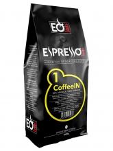 Кофе в зернах EspressoLab 01 CoffeeIN (Эспрессо Лаб Кофеин)  1 кг, вакуумная упаковка
