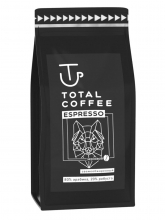 Кофе в зернах Total Coffee ESPRESSO (Тотал Кофе Эспрессо)  1 кг, вакуумная упаковка