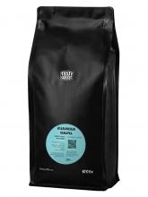 Кофе молотый Tasty Coffee Итальянская обжарка (Тейсти кофе ) 1 кг, вакуумная упаковка