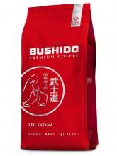 Кофе в зернах Bushido Red Katana (Бушидо Ред Катана)  1 кг, вакуумная упаковка