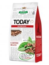 Кофе в зернах Today (Тудей) Blend №8, 800 г, вакуумная упаковка