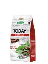 Кофе в зернах Today (Тудей) Blend №8, 200 г, вакуумная упаковка