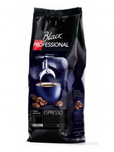 Кофе в зернах Black Professional Espresso (Блэк Профешинал Эспрессо)  1 кг, вакуумная упаковка